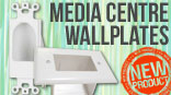 Media Centre Wallplates Now Available