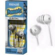 Maxell Peanutz Digital Stereo Earbuds