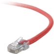 Belkin 1' CAT5e (350 MHz) UTP Network Cable - Red