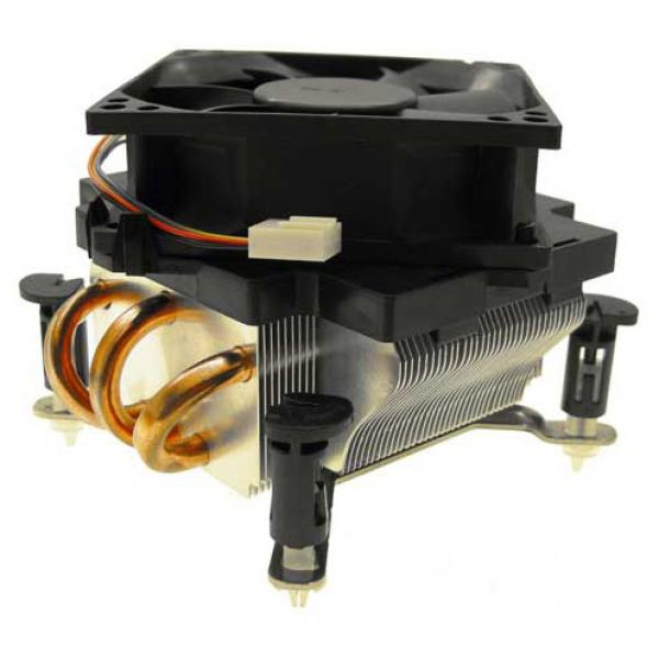 Socket LGA775 Fan with Heatpipes - Click Image to Close