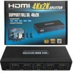 4 Way HDMI v1.4 Splitter with Full 3D and 4Kx2K