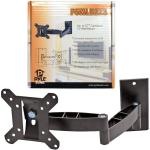 "15""-27"" PyleHome Flat Panel Dual Arm Cantilever TV Wall Mount"